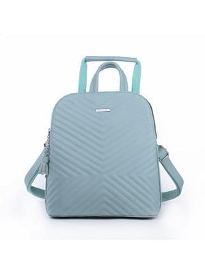 Рюкзак ментолового кольору | 5524225