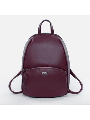 Рюкзак бордовий | 5524517