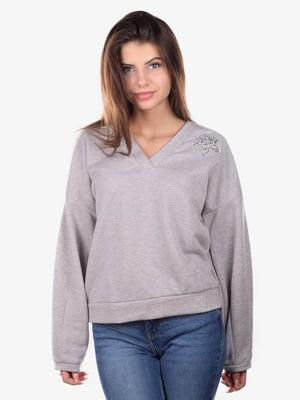 Пуловер серый | 5522130