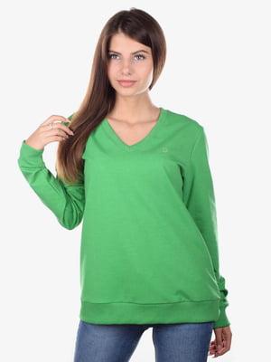 Пуловер зеленый | 5522340