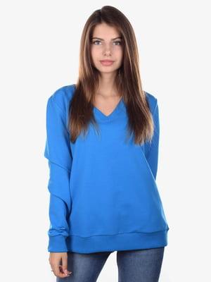 Пуловер синий | 5522341