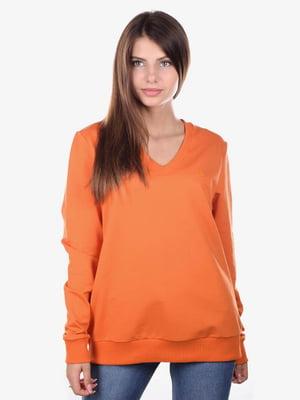 Пуловер оранжевый | 5522342