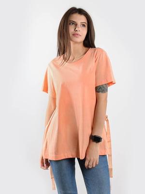 Футболка персикового кольору | 5522529