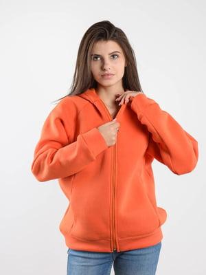 Толстовка оранжевая   5522717