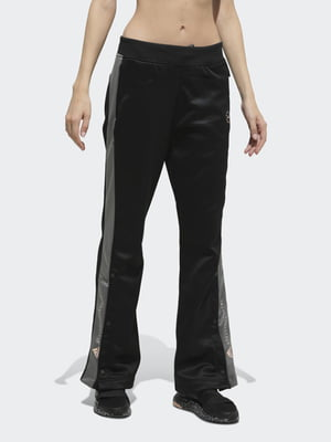 Штани чорні з логотипом | 5524857
