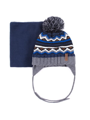 Комплект: шапка і шарф | 5525193
