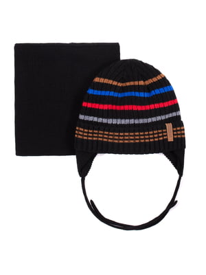 Комплект: шапка і шарф | 5525194