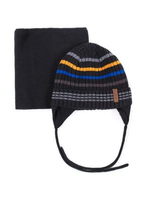 Комплект: шапка і шарф | 5525195
