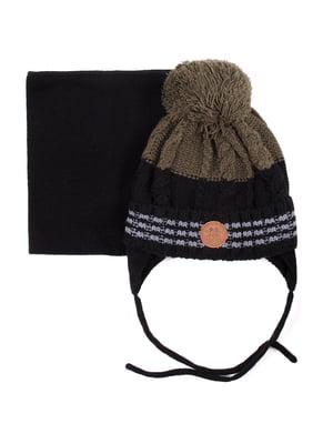 Комплект: шапка і шарф | 5525196