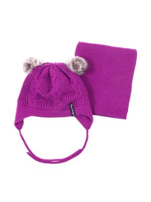 Комплект: шапка і шарф | 5525198