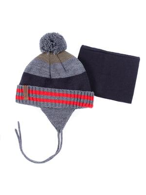 Комплект: шапка і шарф | 5525217