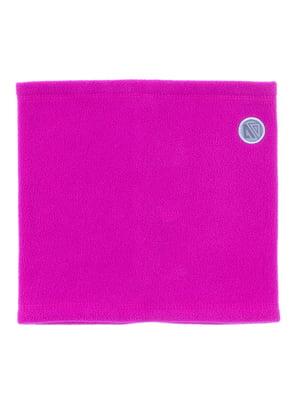 Шарф-хомут рожевий | 5525271
