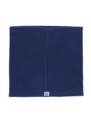 Шарф-хомут синій | 5525273