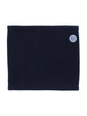 Шарф-хомут чорний | 5525274
