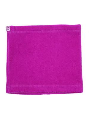 Шарф-хомут фиолетовый | 5525281