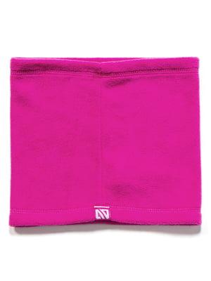 Шарф-хомут розовый | 5525277