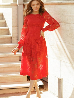 Сукня червона | 5525492