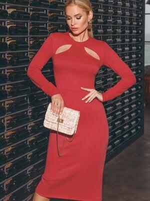 Платье красное | 5525493