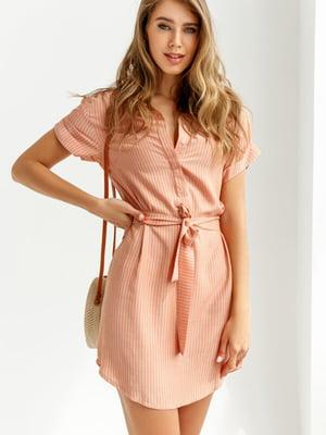 Платье оранжевое | 5525497