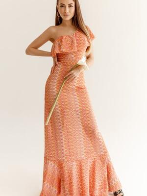 Сукня помаранчевого кольору | 5525498