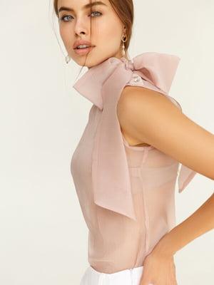 Блуза пудрового цвета | 5525499