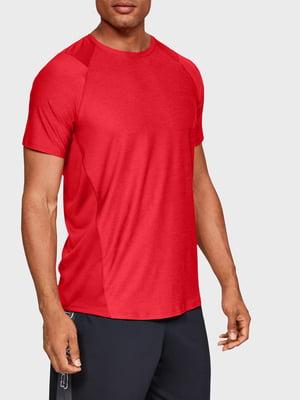 Футболка красного цвета с логотипом | 5491974