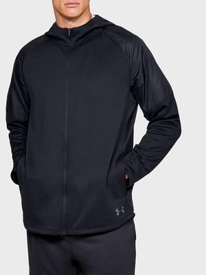 Толстовка черная с логотипом   5492055