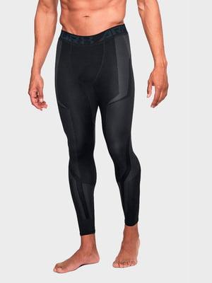 Легінси чорні з логотипом | 5492263