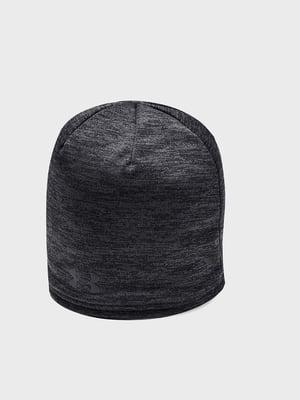 Шапка черная с логотипом | 5492458