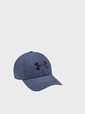 Кепка синяя с логотипом | 5492609