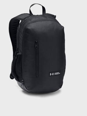 Рюкзак чорний з логотипом | 5492710