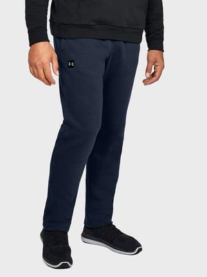 Штани спортивні сині з логотипом | 5492845