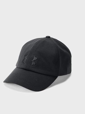 Кепка черная с логотипом | 5493125