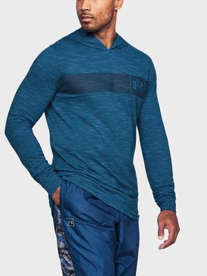 Худі синя з логотипом | 5493257