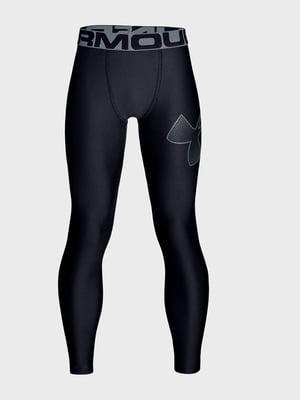 Легінси чорні з логотипом | 5493311