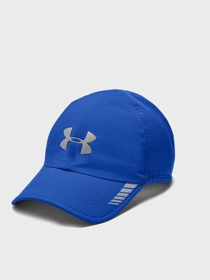 Кепка синяя с логотипом | 5493448