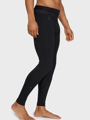 Легінси чорні з логотипом | 5493514