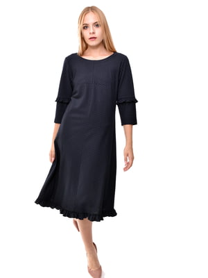 Сукня синя в смужку | 5525429