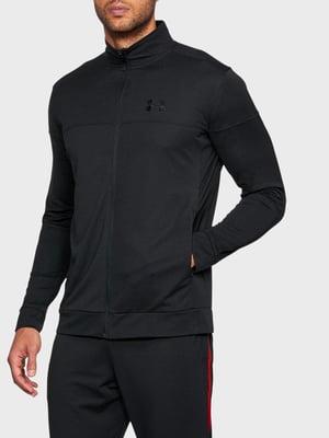 Толстовка черная с логотипом | 5493365