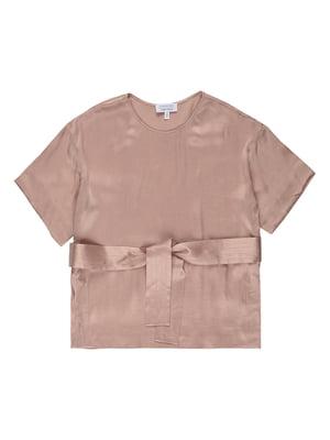 Блуза цвета пудры | 5450566