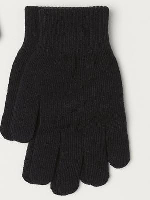 Рукавички чорні | 5511583