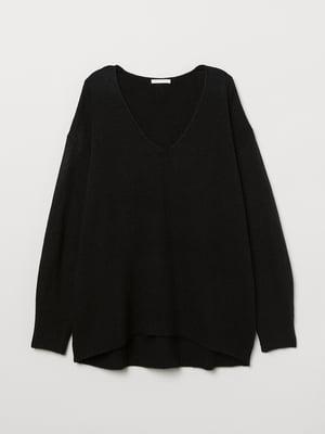 Пуловер чорний | 5511638