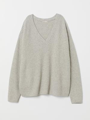 Пуловер сірий | 5511748