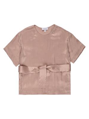 Блуза цвета пудры | 5515548