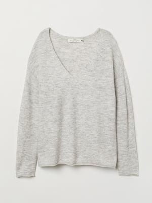 Пуловер серый | 5520103