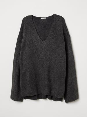 Пуловер сірий | 5520131