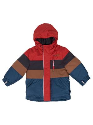 Куртка разноцветная в полоску | 5525254
