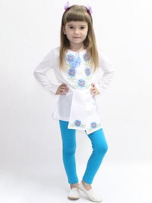 Блуза-вышиванка белая | 5247568