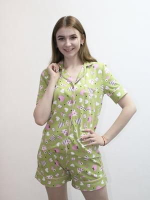 Комплект: сорочка і шорти | 5249944