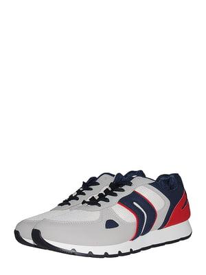 Кросівки біло-сині | 5521965
